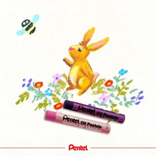 What are your favourite activities on Easter? created by: @bibis_bloghuette Product: Pentel Oil Pastels PHN  #pentel #pentel_eu #pentelarts #ölpastell #ölpastellkreide #oilpastel #oilpastelart #oilpasteldrawing #easter #ostern #osterhase #easterbunny #spring #springtime