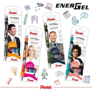 Colours for everybody! You can choose between 4 Energel BL77 sets. They are a perfect gift for students AND teachers. Which one speaks to you the most?  Product: Energel BL77 from left to right: 1.) BL77-4 (black, blue, red, green) 2.) BL77-4COL (orange, pink, skyblue, violet) 3.) BL77-4COL2 (black, forest green, navy blue, burgundy) 4.) BL77-4COL3 (coral pink, lilac, grey, turquoise)  #pentel #pentel_eu #ENERGEL #pentelenergel #energelpens #pen #doodle #doodleart #sketchnotes #studentlife #sets #teacherstuff #papeterie #stationery #BTS #Backtoschool