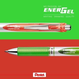 What comes to your mind looking at those two colours combined? Products: Energel BL77-K (light green), BL77-P3 (coral)  #pentel #pentel_eu #ENERGEL #pentelenergel #energelpens #pen #papeterie #stationery #bulletjournal #monthlylog #watermelon #melon #wassermelone #melone #summer #sommer #summerfeeling #lightgreen #coral #doodles #doodle