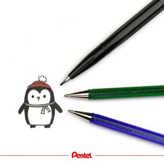 Today is world penguin day! What is your favourite animal?⁣ Products: Brush Sign Pen SES15C-A⁣ Hybrid Dualmetallic Glitter Gelpens K110⁣ ⁣ #pentel #pentel_eu #pentelarts #brushsignpen #pentelbrushsignpen #brushpen #glitterpen #pinguin #penguin #worldpenguinday #penguinday #animaldrawing #penguinart #penguindrawing #drawing #cute #art