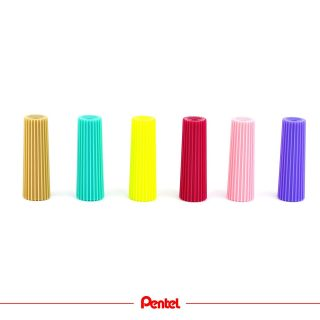 We have got six new colours. Can you guess which product we are talking about?  #pentel #pentelarts #pentel_eu #cap #penlover